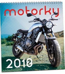 Nástěnný kalendář Motorky 2018