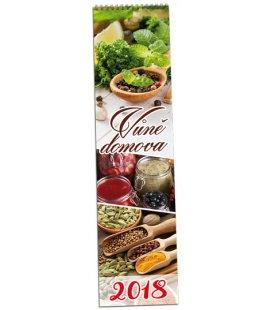 Nástěnný kalendář Vůně domova - vázanka 2018