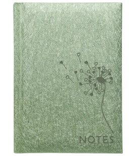 Notes Linkovaný blok s kapsou A6 - spider zelený s ražbou 2018
