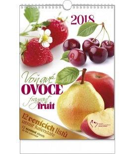 Nástěnný kalendář Voňavý kalendář - Voňavé ovoce 2018
