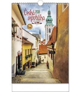 Nástěnný kalendář Česká republika 2018