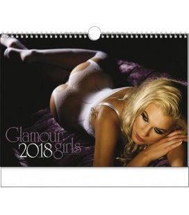 Nástěnný kalendář Glamour Girls 2018