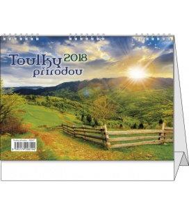 Stolní kalendář Toulky přírodou 2018