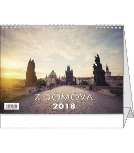 Stolní kalendář Z domova 2018