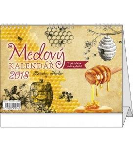 Tischkalender Medový kalendář Renaty Herber 2018