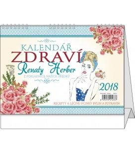 Stolní kalendář Kalendář zdraví Renaty Herber 2018