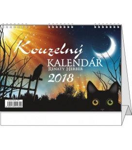 Stolní kalendář Kouzelný kalendář Renaty Herber 2018