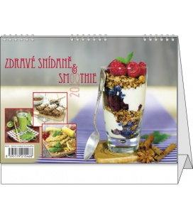 Stolní kalendář Zdravé snídaně & smoothie 2018