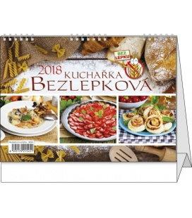 Stolní kalendář Bezlepková kuchařka 2018