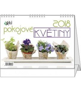 Stolní kalendář Pokojové květiny 2018