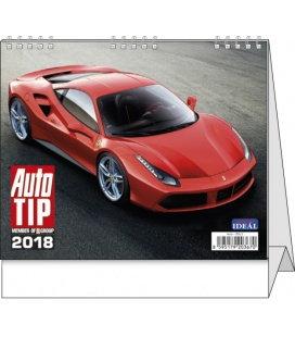 Stolní kalendář IDEÁL - Autotip 2018
