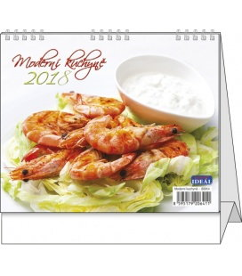 Stolní kalendář IDEÁL - Moderní kuchyně 2018