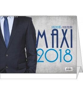 Stolní kalendář Maxi kalendář 2018