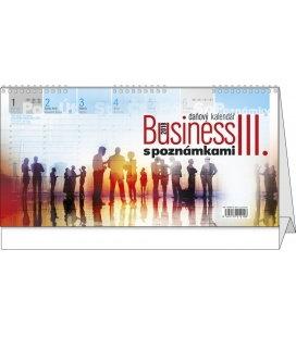 Tischkalender Business III. s poznámkami 2018