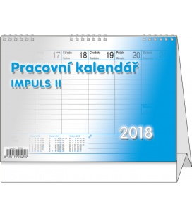 Table calendar Impuls II. 2018