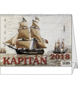 Stolní kalendář Kapitán 2018