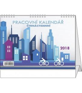 Table calendar Pracovní - Čtrnáctidenní 2018