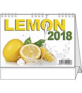Stolní kalendář Lemon - mini 2018