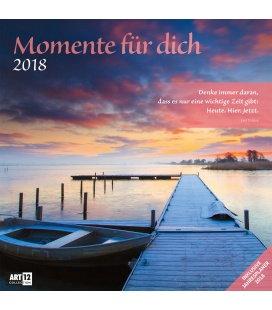 Nástěnný kalendář Okamžiky / Momente für Dich 30x30 2018