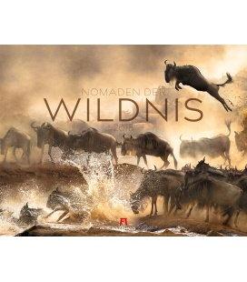 Nástěnný kalendář Divocí nomádi / Nomaden der Wildnis 2018