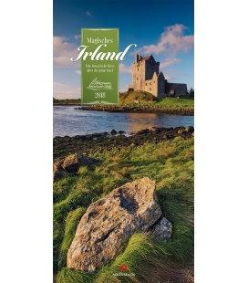 Nástěnný kalendář Irsko / Magisches Irland 2018