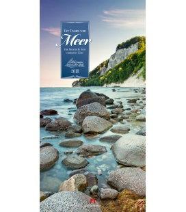 Nástěnný kalendář Sny o moři / Der Traum vom Meer 2018