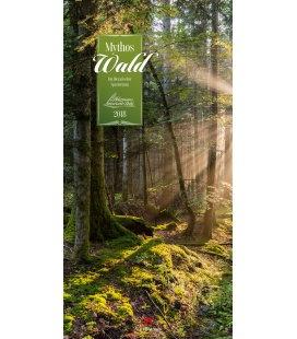 Nástěnný kalendář Les / Mythos Wald 2018