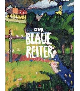 Nástěnný kalendář Modrý jezdec / Der Blaue Reiter 2018