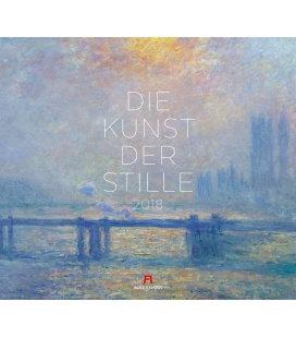 Nástěnný kalendář Art of Silence / Die Kunst der Stille 2018