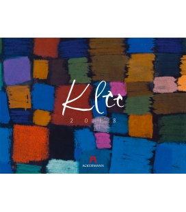 Nástěnný kalendář Paul Klee 2018