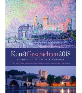 Nástěnný kalendář Dějiny umění / KunstGeschichten 2018