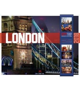 Nástěnný kalendář London CityTrip 2018