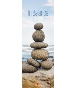 Nástěnný kalendář V rovnováze / In Balance 2018