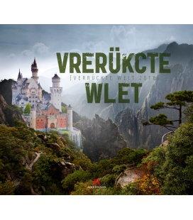 Nástěnný kalendář Bláznivý svět / Verrückte Welt 2018