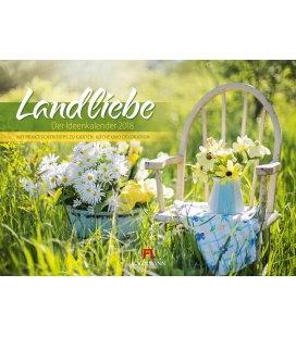 Nástěnný kalendář Romantická zákoutí / Landliebe 2018