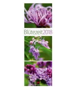 Nástěnný kalendář Květy / Blütezeit 2018