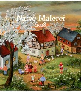 Nástěnný kalendář Naivní malířství / Naive Malerei 2018