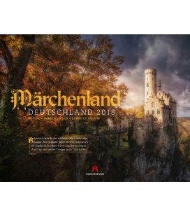 Nástěnný kalendář Pohádkové Německo / Märchenland Deutschland 2018