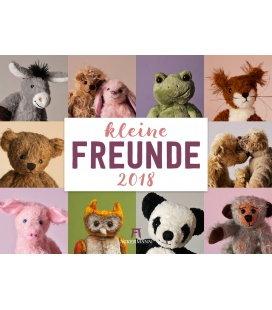 Nástěnný kalendář Malí přátelé / Kleine Freunde 2018