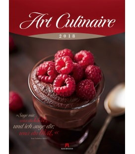 Nástěnný kalendář Kulinářské umění / Art Culinaire 2018