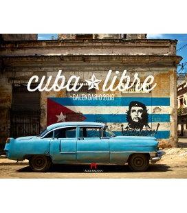 Nástěnný kalendář Cuba Libre 2018