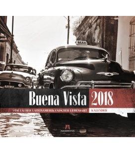 Wall calendar Buena Vista 2018