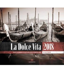 Wall calendar La Dolce Vita 2018