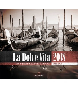 Wandkalender La Dolce Vita 2018