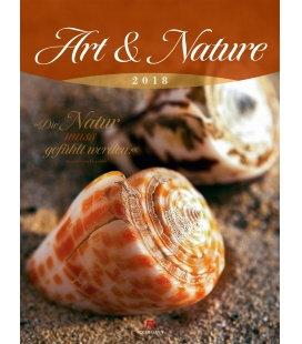 Wandkalender Art & Nature 2018