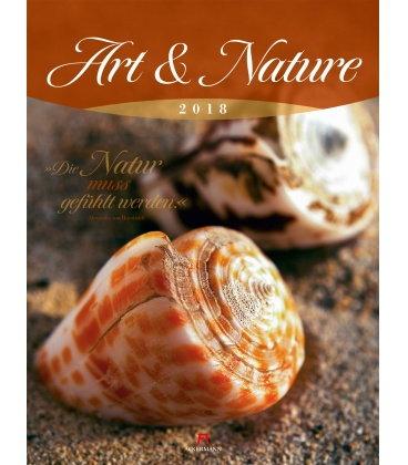 Nástěnný kalendář Umění & Příroda / Art & Nature 2018