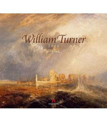 Nástěnný kalendář William Turner 2018