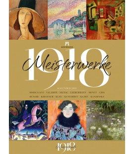Wandkalender Meisterwerke 1918 2018