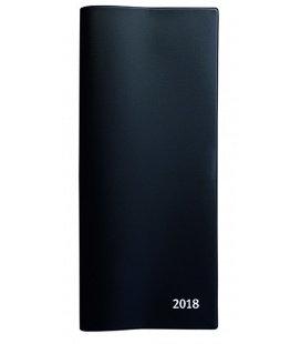 Pocket Diary monthly PVC černý 2018