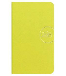 Weekly Pocket Diary Slim limetkový 2018